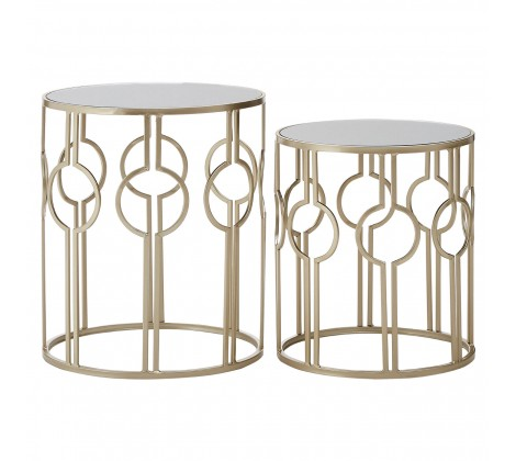 Champagne Side Tables