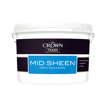 10 L Crown Mid Sheen White
