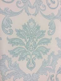 Estelle Teal Damask