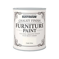 750ML Rustoleum Chalky Paint Chalky White