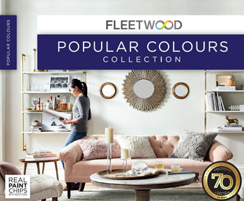 Fleetwood Popular Colour Card