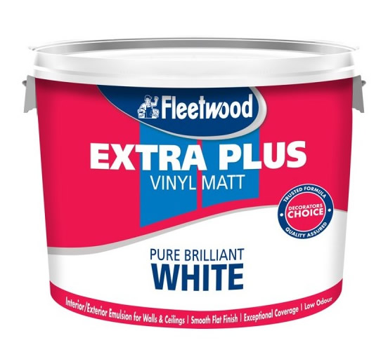 10 L Fleetwood Extra Plus Matt White