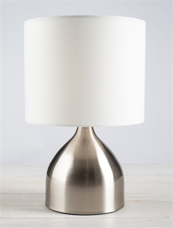 Grey Touch Lamp