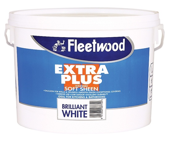 10 L Fleetwood Extra Plus Soft Sheen White