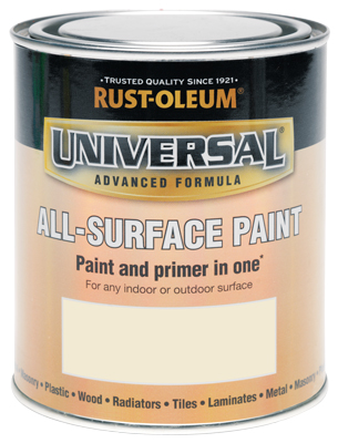 250ML Rustoleum Universal Heirloom White