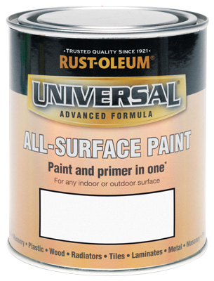 250ML Rustoleum Universal White Matt