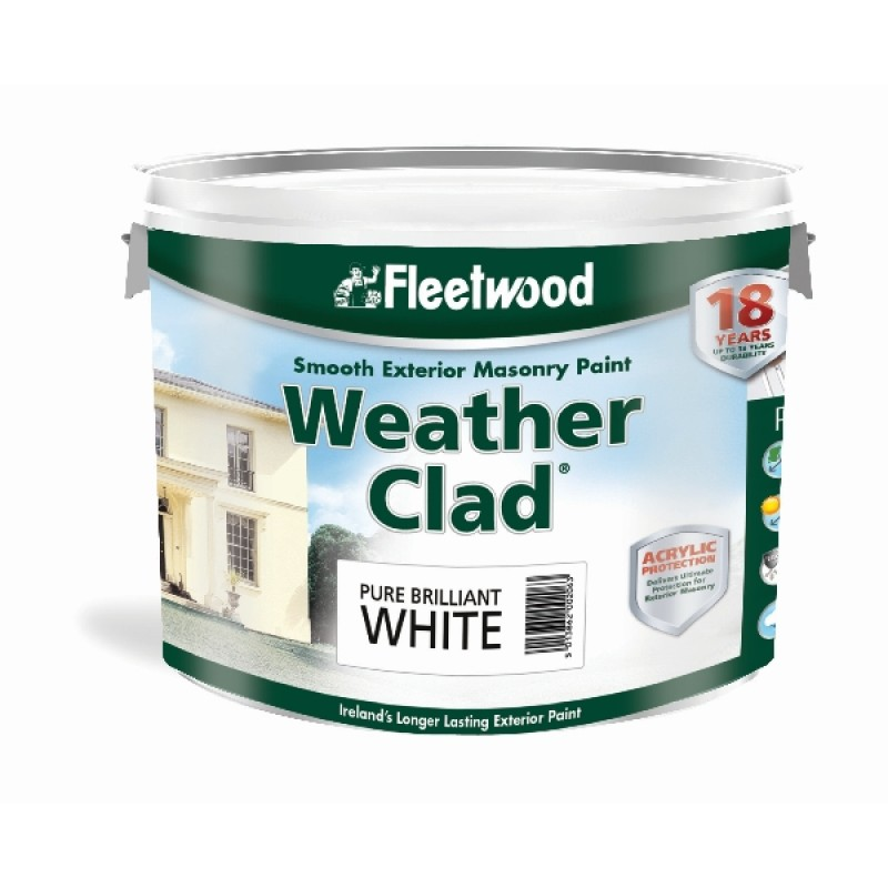 10 L Fleetwood Weatherclad White